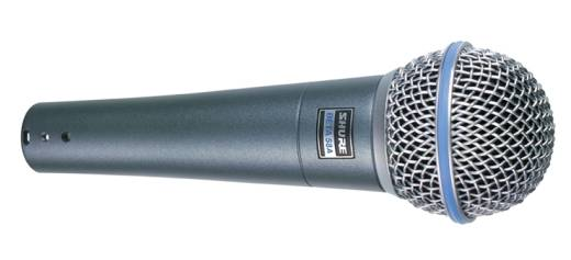 Beta 58A Dynamic Supercardioid Mic