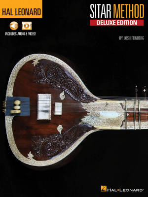 Hal Leonard Sitar Method: Deluxe Edition - Feinberg - Book/Media Online
