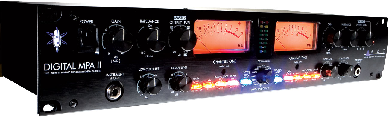 Digital MPA 2-Channel Digital Mic Preamp