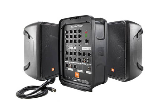 EON208P Portable PA System w/ Detachable Powered Mixer and Bluetooth