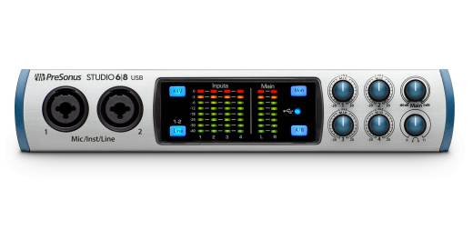 Studio 68 6-In/8-Out USB Audio Interface
