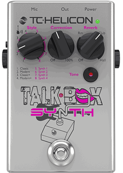 tc helicon talkbox synth guitar talkbox effects and vocal tone pedal long mcquade musical. Black Bedroom Furniture Sets. Home Design Ideas