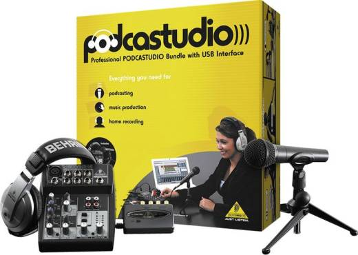 Podcastudio Bundle with USB Interface