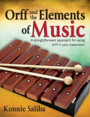 Orff and the Elements of Music - Saliba - Book