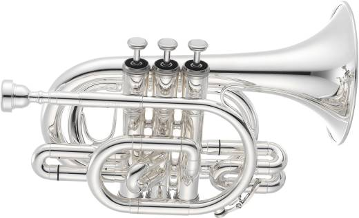 700 Series JTR710 Bb Pocket Trumpet - Silver Plated