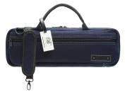 Beaumont - C-Foot Flute Carry Bag - Blue Denim