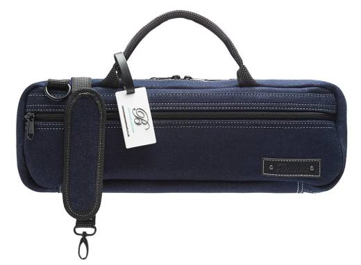 C-Foot Flute Carry Bag - Blue Denim