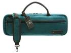 Beaumont - C-Foot Flute Carry Bag - Teal Corduroy