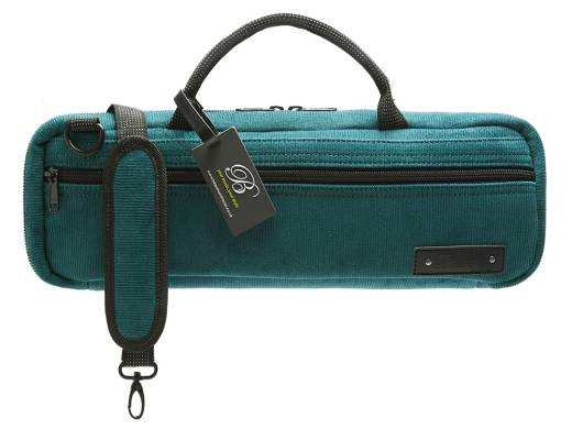 C-Foot Flute Carry Bag - Teal Corduroy