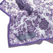 Beaumont - Flute Standard Polishing Cloth, Small - Damson Lace