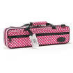 Beaumont - Flute Case - Pink Polka Dot