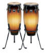 Meinl - Headliner Congas with Stand - Vintage Sunburst