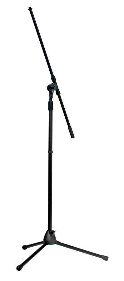 yorkville sound tripod boom stand black long mcquade musical instruments. Black Bedroom Furniture Sets. Home Design Ideas