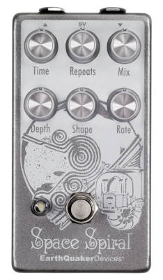 Space Spiral Modulated Delay Pedal