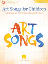 Hal Leonard - Art Songs for Children - Voice - Book/Audio Online