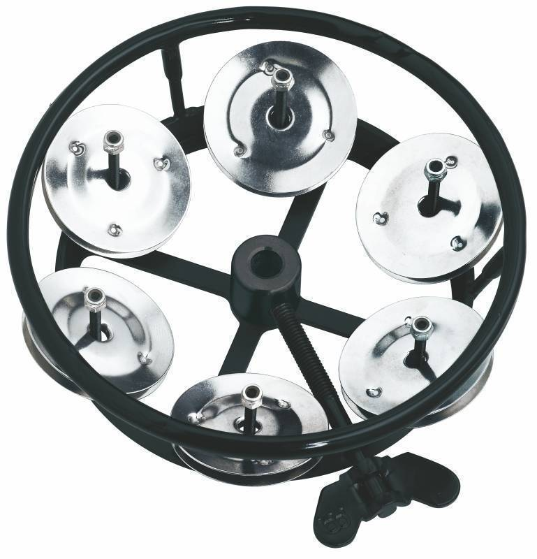 meinl professional series hihat tambourine steel jingles w striking edge 1 row long. Black Bedroom Furniture Sets. Home Design Ideas