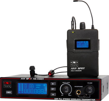 AS-1400 Wireless Personal Monitor System, 300' Range