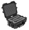 Gator - Waterproof Wired Microphone Case for 6 Mics