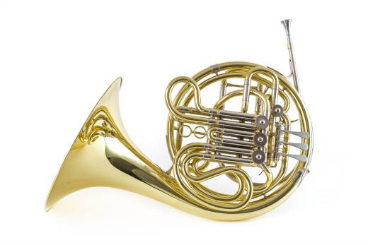 Double French Horn - Lacquered Finish