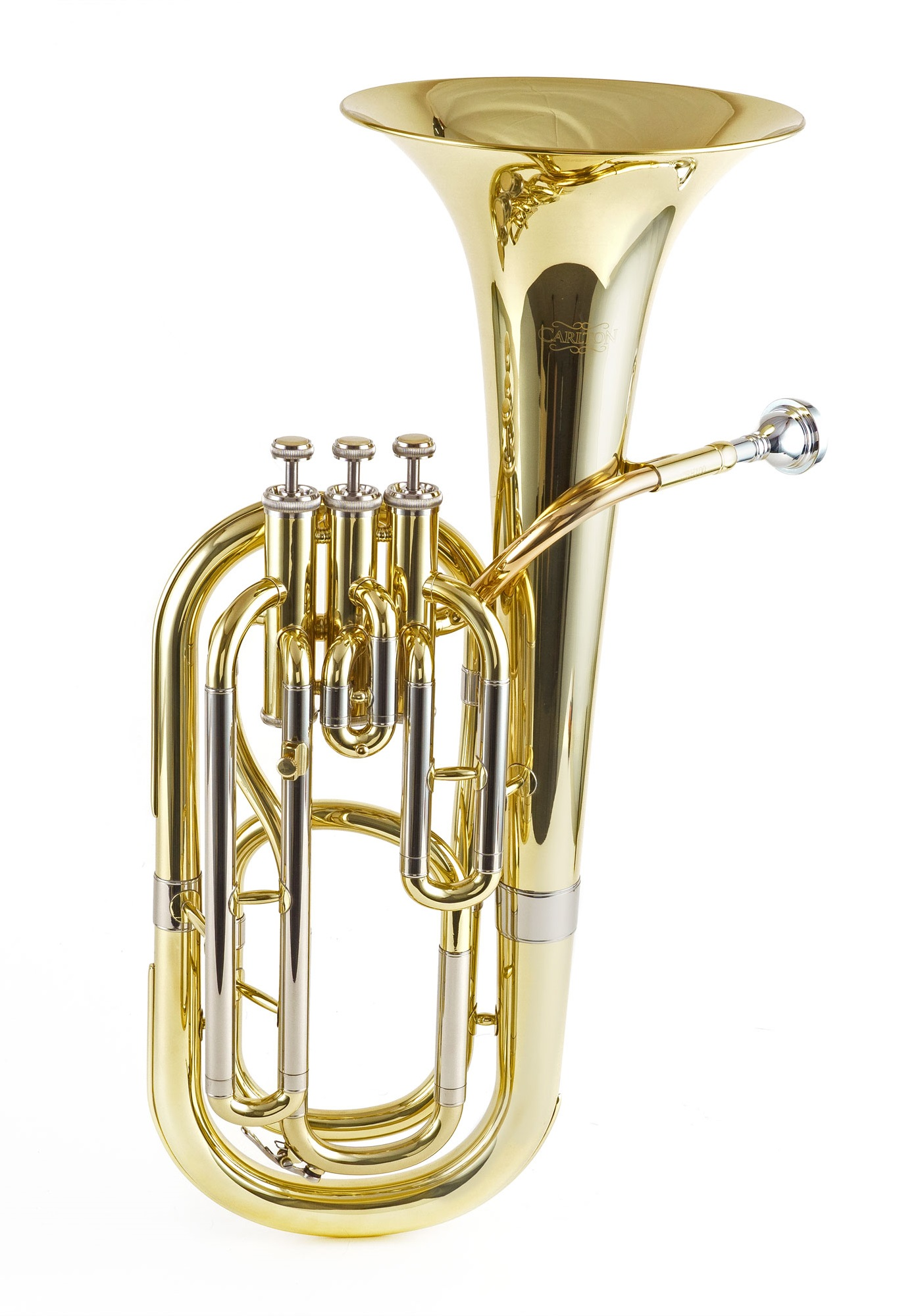 3 Valve Baritone Horn - Lacquered Finish