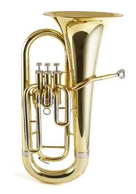 3 Valve Euphonium - Lacquered Finish