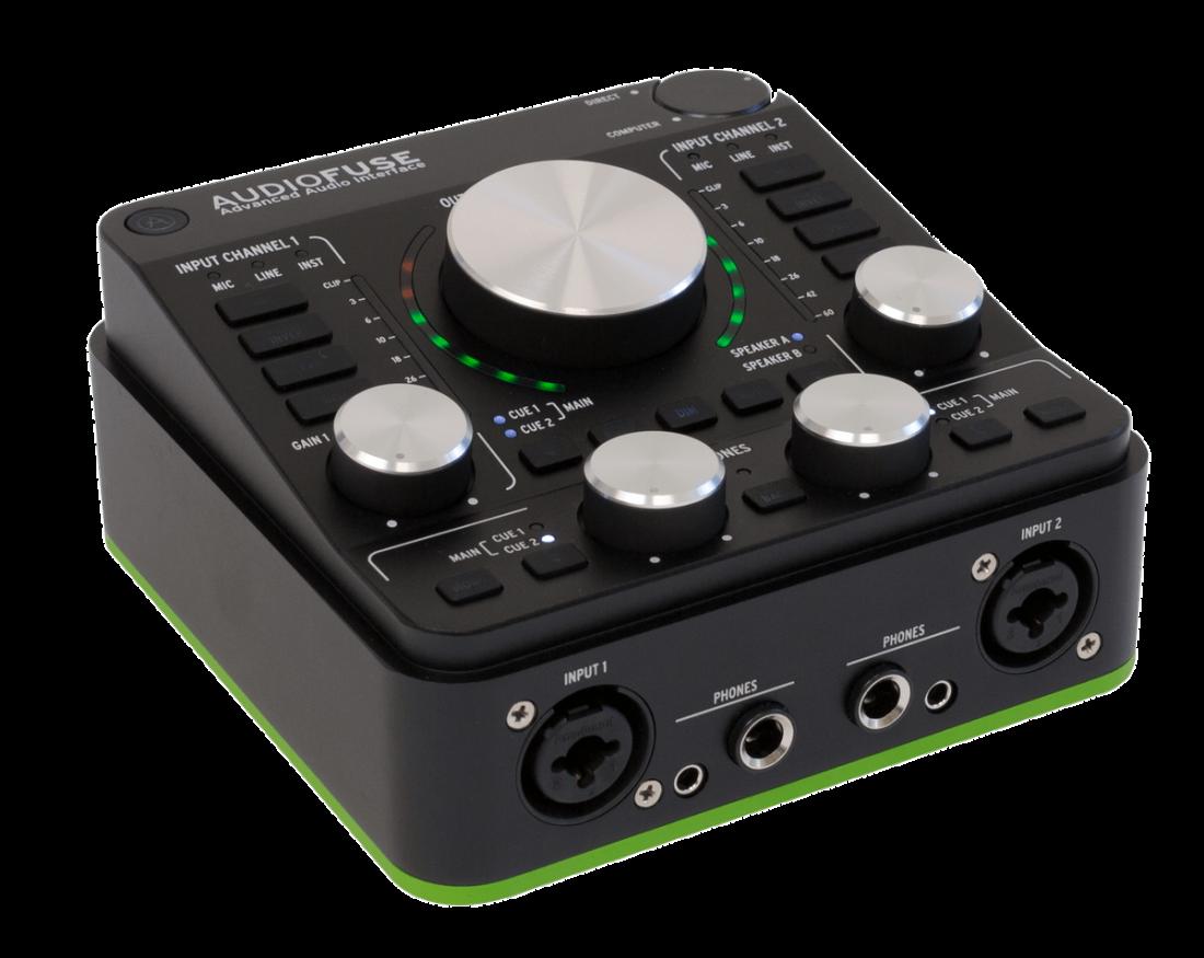 arturia audiofuse 14x14 i o audio interface deep black long mcquade musical instruments. Black Bedroom Furniture Sets. Home Design Ideas