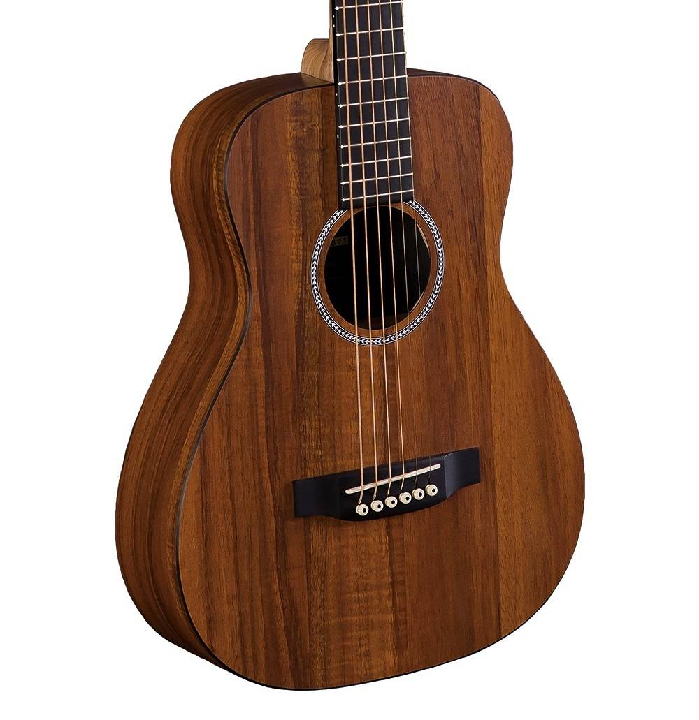 martin guitars lxk2 little martin koa hpl acoustic guitar w gigbag long mcquade musical. Black Bedroom Furniture Sets. Home Design Ideas