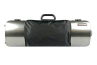 Bam Cases - Hightech Oblong 4/4 Violin Case w/Pocket - Tweed