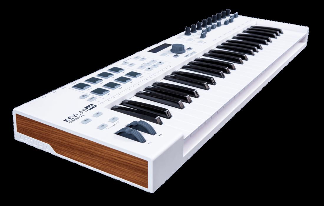 arturia keylab essential 49 universal midi controller long mcquade musical instruments. Black Bedroom Furniture Sets. Home Design Ideas