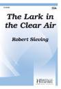 Heritage Music Press - The Lark in the Clear Air - Sieving - SSA
