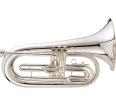 King - 1127SP Marching Baritone Outfit - Silver Plated