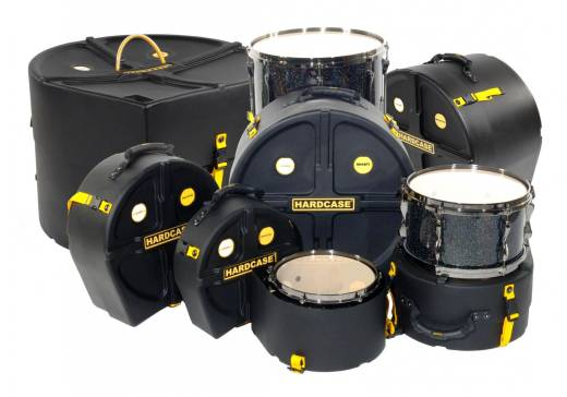 Drum Case Set for Rock Fusion Kits, 22/10/12/14/16/SD