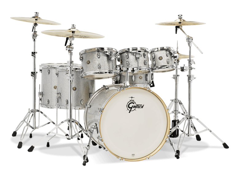 6f2e9f95bf25 Gretsch Drums Catalina Maple 7-Piece Shell Pack - Silver Sparkle - Long    McQuade Musical Instruments