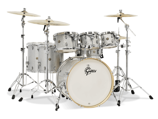 Catalina Maple 7-Piece Shell Pack - Silver Sparkle