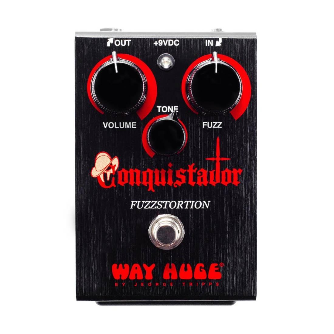 Way Huge Electronics Conquistador Fuzzstortion Long Mcquade Jimmy Hendrix Fuzz Face Guitar Effect Schematic Diagram