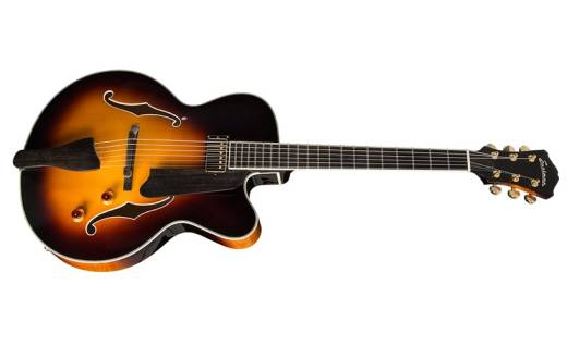 Archtop Guitar Spruce Top - Sunburst Finish