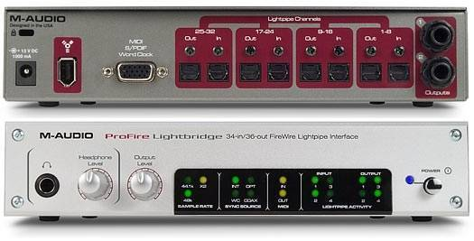 M AUDIO PROFILE LIGHTBRIDGE DRIVER