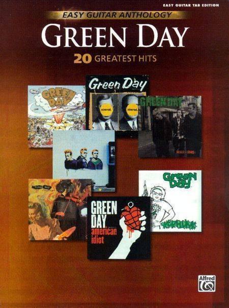 warner brothers green day guitar anthology easy guitar long mcquade musical instruments. Black Bedroom Furniture Sets. Home Design Ideas