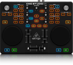 Behringer - CMD Studio 2A - Dual-Deck DJ MIDI Controller with 4-Channel Audio Interface