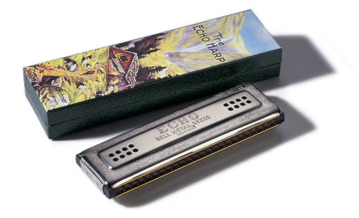 Echo 56 48-Hole Tremolo Harmonica - Key of C/G