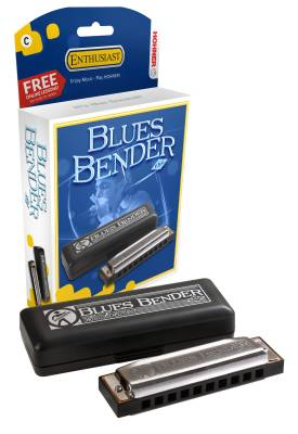 Blues Bender P.A.C. Harmonica - Key of D