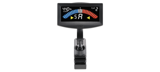 PitchCrow-G Clip-on Tuner - Black