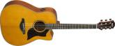 Yamaha - A3M All Solid Spruce-Mahogany Dreadnought Cutaway - Vintage Natural