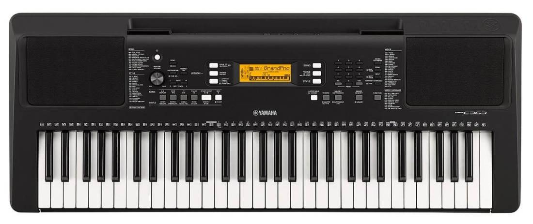 yamaha psr e363 touch sensitive portable keyboard long