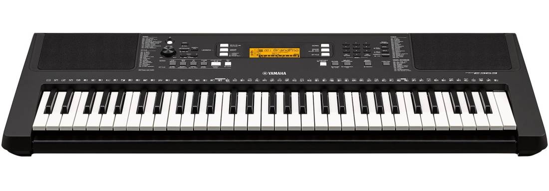 Yamaha psr e363 touch sensitive portable keyboard long for Yamaha psr e363