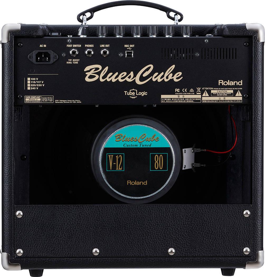 roland blues cube hot 39 39 british el84 modified 39 39 guitar amplifier long mcquade musical. Black Bedroom Furniture Sets. Home Design Ideas