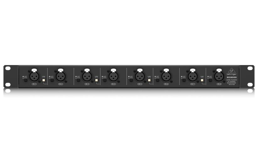 Behringer - MS8000 8-Channel Microphone Splitter