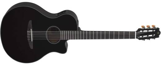 NTX500 Spruce-Top Nylon String Acoustic/Electric - Black