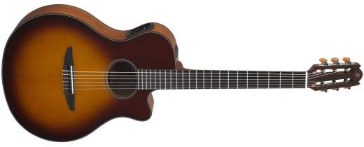 NTX500 Spruce-Top Nylon String Acoustic/Electric - Brown Sunburst