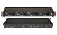 Pro Co Sound - DB4AQ 4-Channel Rack Mount Direct Box